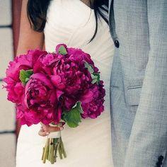 Fuscia bouquet