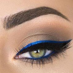 Apúntate al contraste de color en tu mirada como lo hace @makenziewilder con nuestros Vivid Brights Liners  Pronto disponibles también en España  #nyxespaña #maquillaje #makeup #makeuplovers #makeupjunkies #beautyjunkies by nyx_es
