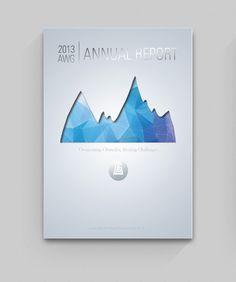 AWG 2013 Annual Report by Alicia Blair, via Behance