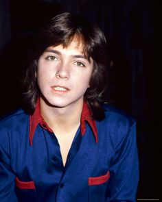 David Cassidy from The Partridge Family..I was sick to my stomach with love♥ for this boy!! Lol
