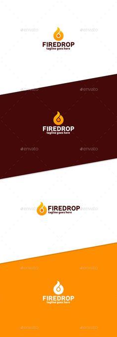Fire Drop Logo - Abstract Logo Templates Download here : http://graphicriver.net/item/fire-drop-logo/15885322?s_rank=79&ref=Al-fatih