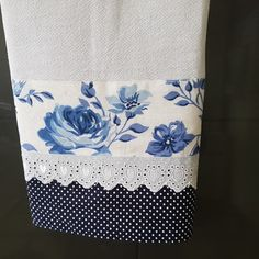 Pano de prato para dia a dia Hand Towels Bathroom, Kitchen Towels, Flour Sack Towels, Tea Towels, Sewing Crafts, Sewing Projects, Embroidered Bedding, Zen, Assemblage