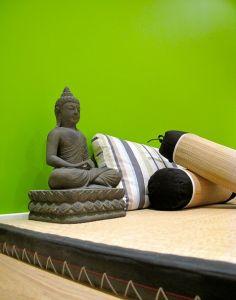 Meditation à Bruxelles, bouddha