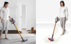 What Distinguishes The Dyson V8 Absolute From The Successor The Dyson Cyclone V10 Absolute In The Dyson V8 Vs V10 Compa In 2020 Dyson Dyson V8 Diy Cleaning Products