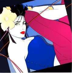 """.Patrick Nagel was born in Dayton, Ohio, but was brought up in the Los Angeles area, where he spent most of his life. He studied art at Chouinard Art Institute, and in 1969 received his Bachelor of Fine Arts degree from California State University at Fullerton. Beginning in 1976, Nagel began contributing regularly to Playboy, which extended the exposure and popularity of """"the Nagel Woman"""" to a huge and loyal audience."""