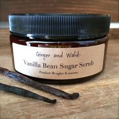 vanilla bean sugar scrub by gingerandwaldo on etsy more vanilla bean ...