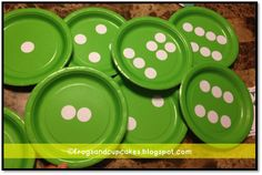 Easy to make subitizing plates!