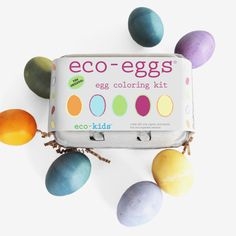 Eco-Eggs Egg Coloring Kit