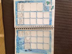 First try at monthly journal...definitely need more space