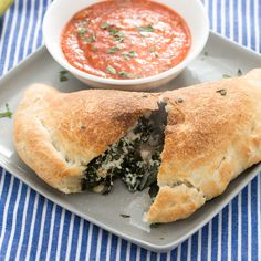 Kale + Calzones? A spin on an Italian favorite!