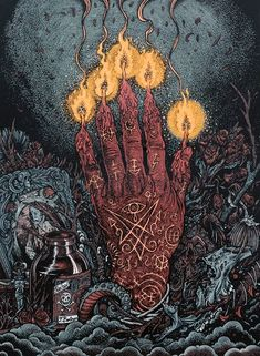 Hand of Glory by Florian Bertmer, Image via http://florianbertmer.blogspot.com/
