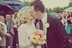 A Mad Men Inspired Vintage Wedding: Rowan & Neil