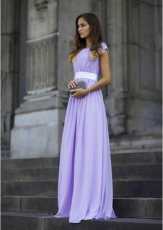 0a0a53bcd7a Chiffon Prom Dress A-Line Princess Scoop Neck Long Floor-Length With