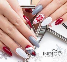 Najlepsze Obrazy Na Tablicy Nails Winter 145 Christmas Manicure