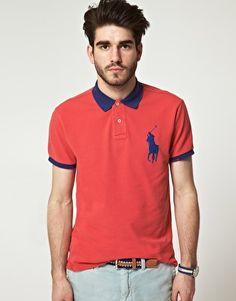vintage Polo Ralph Lauren's Big Polo Player Polo Shirt
