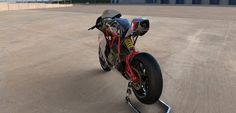 Radical Ducati S.L.: RAD02 PROTWIN 2.5 by DESMODESIGN