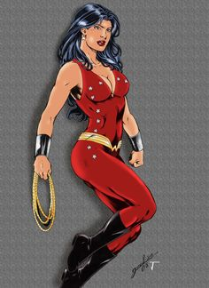 Wonder  Girl  (  Donna  Troy  )  by  ikbarro