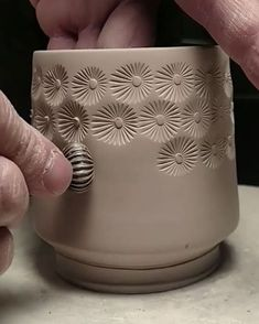 """2,958 Likes, 50 Comments - Paul and Tracy Lyon (@lyonclay) on Instagram: """"...I know that I've posted a video of this texturing before but this time the consistency of the…"""""""