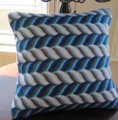 interesting bargello needlepoint pattern