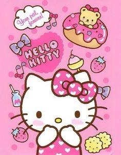 Ĥάνέ ªŊĭŒ Ðάγ — say-hello-to-kitty: Hello Kitty / Wallpaper Hello Kitty Art, Hello Kitty Pictures, Hello Kitty Birthday, Sanrio Hello Kitty, Hello Kitty Backgrounds, Hello Kitty Wallpaper, Sanrio Wallpaper, Kawaii Wallpaper, Birthday Background Wallpaper
