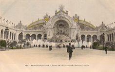 Paris Exposition - Palais de L'Electricite & Chateau D'Eau
