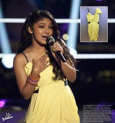 GIVEAWAY TIME! Win this Rachel Roy dress worn by #TeamAdam's Mathai during her battle rounds performance! RE-PIN this pin from @The Voice NBC with #DressLikeTheVoice to enter. Contest ends 9PM EST. Follow us for more giveaways all week long!