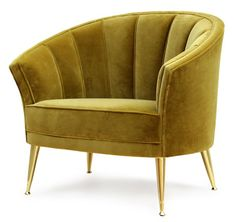 Maya Armchair from Carlyle Collective