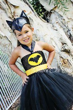 Batgirl Batman tutu costume