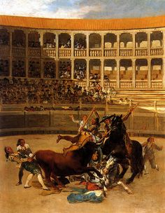 Francisco de Goya - Picador Caught by the Bull