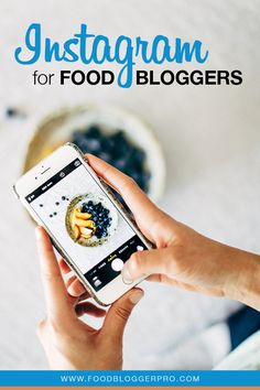 Instagram for Food Bloggers