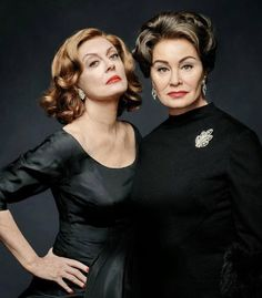 Jessica Lange as Joan Crawford #jessicalange