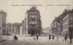 Etterbeek - Rue de Theux et de Haerne