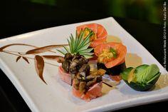 Sumô Sushi Bar (jantar)    Sushis especiais 2012   2 pares de sushis especiais criados pelo nosso sushiman com as melhores opções do dia
