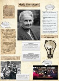 """Maria Montessori  """"Each child is born with a unique potential to be revealed rather than as a 'blank slate' waiting to be written upon.""""    """"Teach by teaching not by correcting."""" (Think about what you want ahead of time vs. reacting)"""