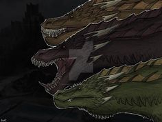 y'all say viserion is the wrong color this is his ass got merked LOL anyyyway enjoy even more game of thrones art . Drogon Game Of Thrones, Game Of Thrones Dragons, Got Dragons, Game Of Thrones Houses, Game Of Thrones Art, Mother Of Dragons, The Longest Night, Game Of Trones, 3d Animation