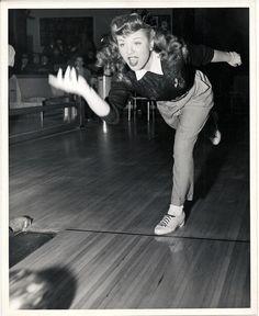bowling, c. 1940s.