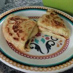 Crepioca (pão de queijo de frigideira)