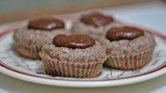 Muffin de Banana e Amêndoas com Tapioca (Sem Glúten, Lactose e Farináceos)