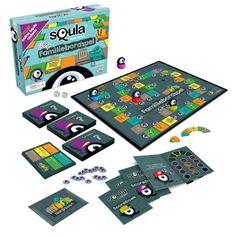 Speel nu samen met je ouders het Squla bordspel! Een spannend vraag- en antwoordspel voor de hele familie. De vragen in de categorieën taal, rekenen, geschiedenis, natuur& techniek en aardrijkskunde...