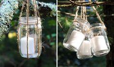 DIY Basics: Hanging Jar Lanterns