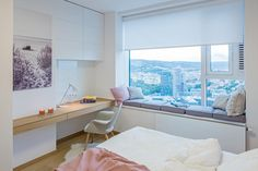 Dvojizbový apartmán, Panoramacity, Bratislava   RULES architekti