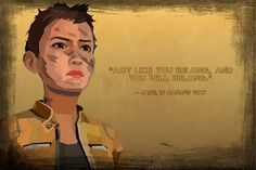 The Walking Dead - Jane by jakest123 on deviantART. Ah, Jane. You were so great right up until the end there