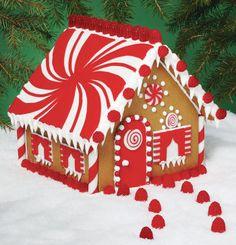 Maison en pain d'épice Palais boule de neige de Wilton