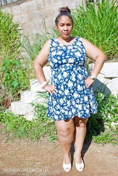 Plus Size Summer Style - How Skimmies Saved My Summer Fashion - Honeygirl's World  #SK #ad #SavedBySkimmies