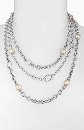 Majorica 10mm Pearl Multistrand Necklace