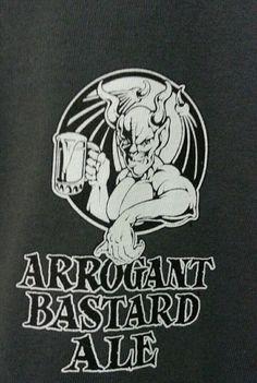 #NationalBeerDay Celebrate with a new Arrogant Bastard #graphictee from #StoneBrewingCompany. #ArrogantBastardAle #LYLACS_4U #freeshipping