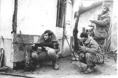 First Chechen War, chechen rebel fighters.