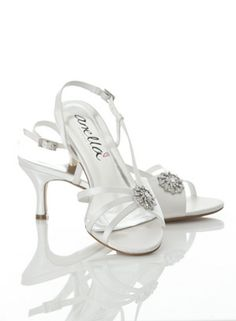 Elizabeth - Anella Wedding Shoes - Medium Heel