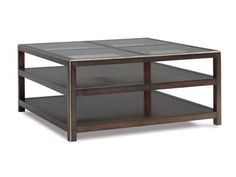 CTH-Sherrill Occasional Square Cocktail Table