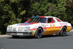 1977 OLDSMOBILE CUTLASS CALE YARBOROUGH RACE CAR $22,000